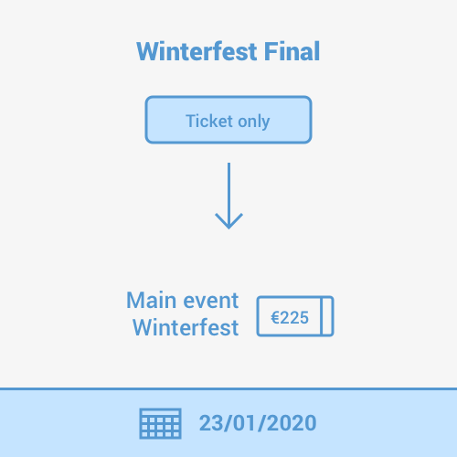 Step 3 - Win your Winterfest Main Event Ticket!