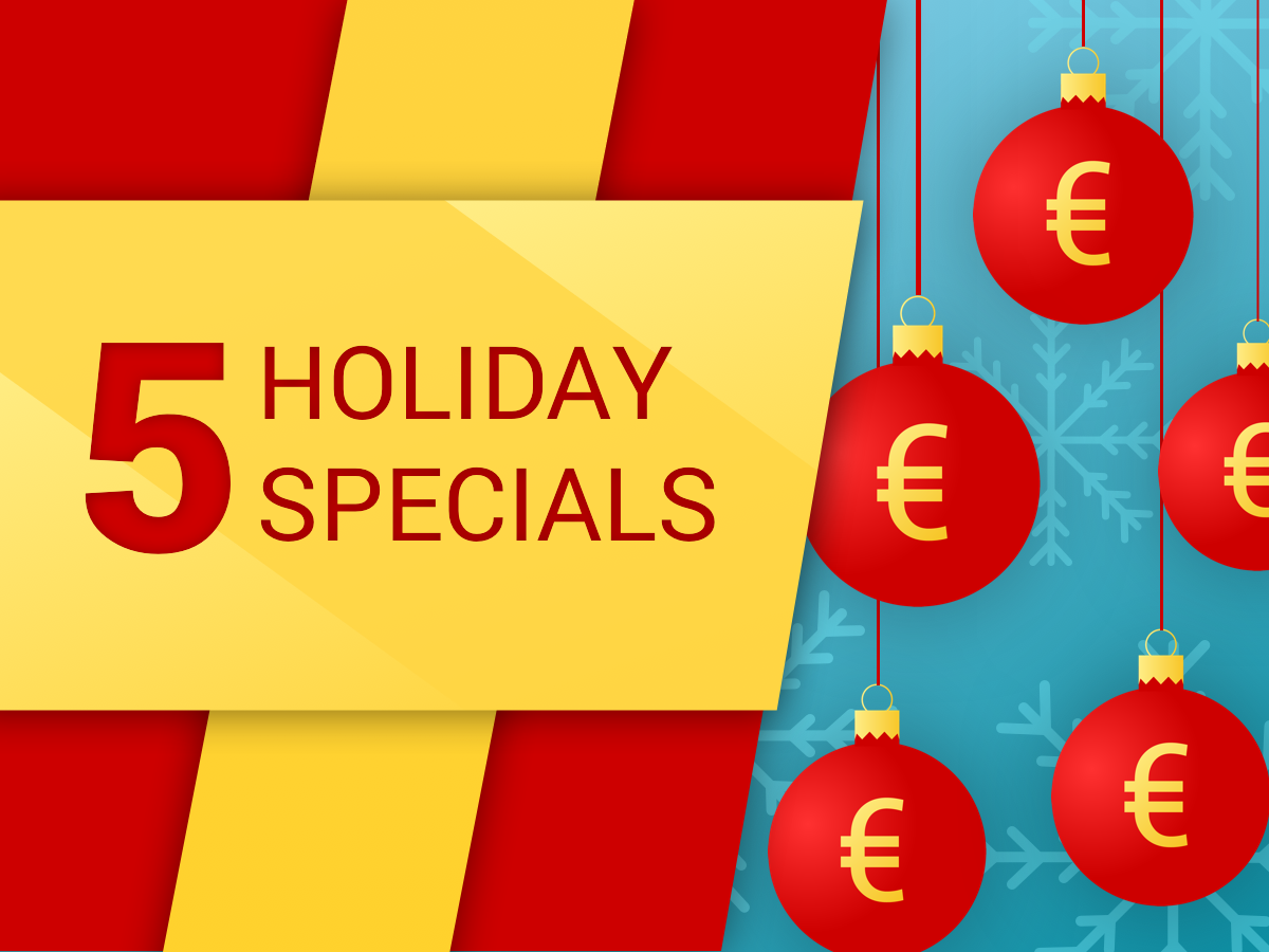 5 Holiday Specials in Days of Poker